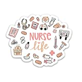 Nurse sticker | Nursing decal | Nursing student sticker | Nurse life medical professional decal