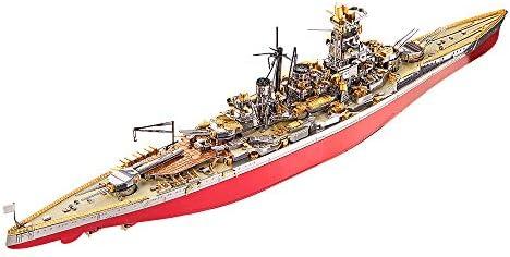 Piececool 3D Metal Model Kits Kongou Battleship DIY 3D Metal Puzzle for Adults Great Gift Idea product image