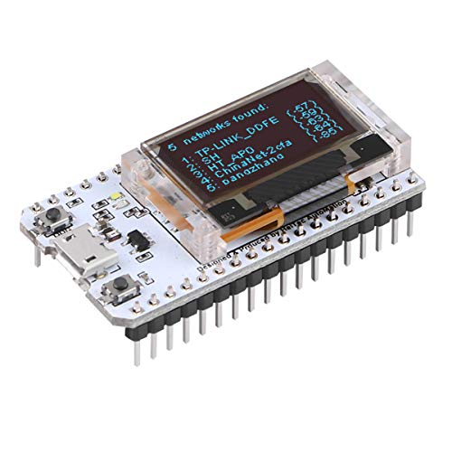 MakerHawk ESP32 Module OLED Display WiFi Development Board WIFI Kit 32 Low Power Consumption 240 MHZ Dual Core with CP2012 Chip 0.96inch Display for Arduino Nodemcu