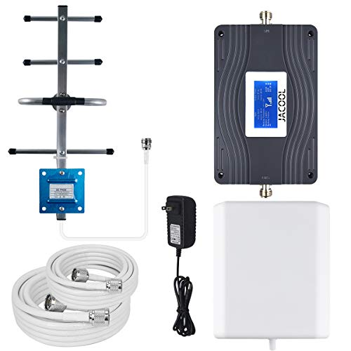 Verizon AT&T Cell Phone Signal Booster Dual 700MHz Band 13/12/ 17 4G LTE Cellular Signal Booster FDD...