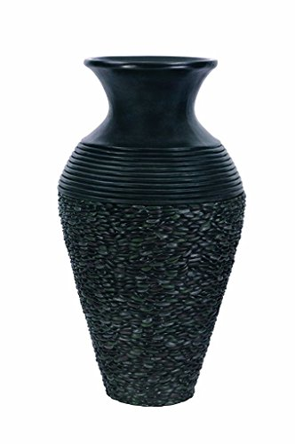 Patriot Pebble Pot 20 Inch Pondless Fountain for Landscape and Patio Accents