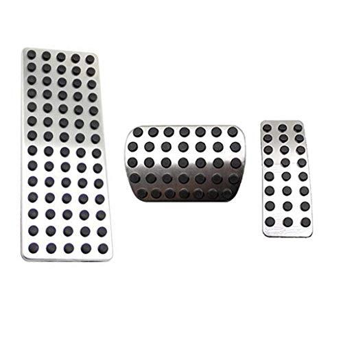 No drill gas freno a pedale in acciaio INOX antiscivolo acceleratore pedale del freno cover Fits A B CLA GLA ML GL R Class A200 W176 W245 W246 W251 W164 W166 X164 X166 C177 X159(AT)