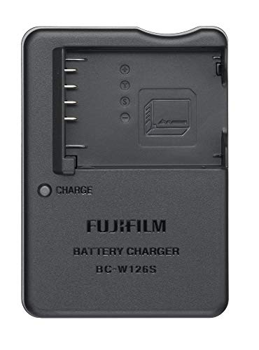 Fujifilm Battery Charger BC-W126S for NP-W126S Li-ion Battery,Black