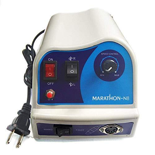 LXHSY Micromotor eléctrico Pulidora Pulido N8 45Krpm Laboratorio Dental Que Hace Las...
