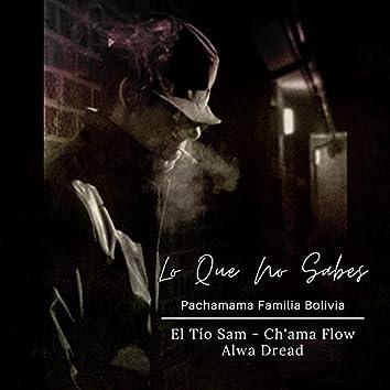 Lo Que No Sabes (feat. Tio Sam, Alwa Dread & Ch'ama Flow)