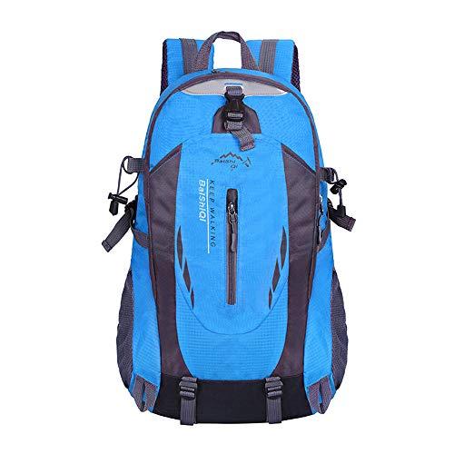 KA® 40L Résistant à Eau Sac A Dos Randonnée Léger, Unisexe Respirant Ultraléger Imperméable,Sac A Dos pour Camping, Alpinisme,Trekking, Voyage Sports Loisir Cyclisme (Bleu)