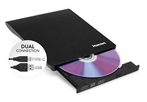 Ham-let – Hamlet masteriz DVD slim interface USB Type-C