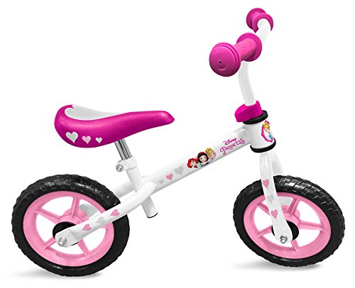 STAMP Girls Running Bike/LAUFRAD-Princess Disney Mädchen, Rosa, 2+