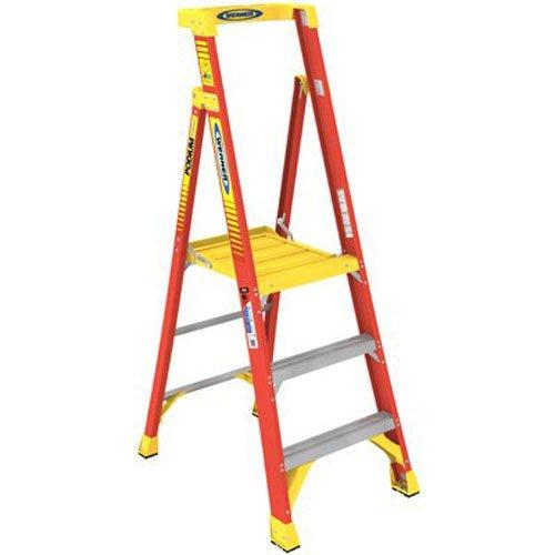 WERNER CO PD6203 Type IA Aluminum Podium Ladder - 3'
