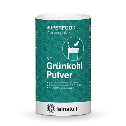 feinstoff Grünkohl Pulver bio gefriergetrocknet, 70 g