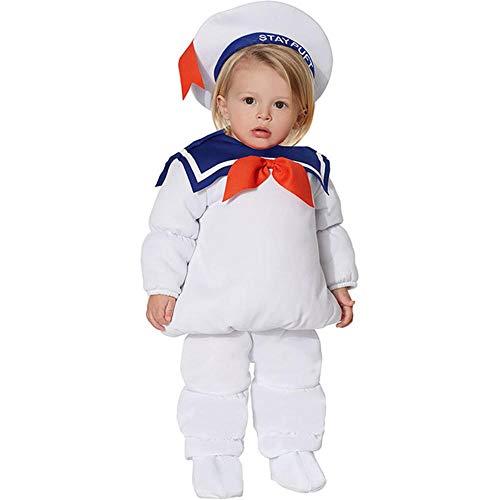 Ghostbusters StayPuft Marshmallow Man Cosplay disfraz nios nio nia Ghostbusters Cosplay traje Halloween fiesta disfraces prop
