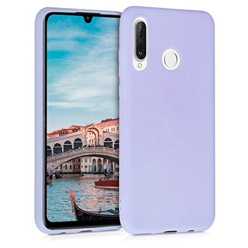 kwmobile Hülle kompatibel mit Huawei P30 Lite - Handyhülle - Handy Hülle in Pastell Lavendel