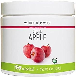 Nubeleaf Apple Powder - Non-GMO, Gluten-Free, Raw, Organic, Vegan Source of Essential Vitamins & Minerals - Single-Ingredi...
