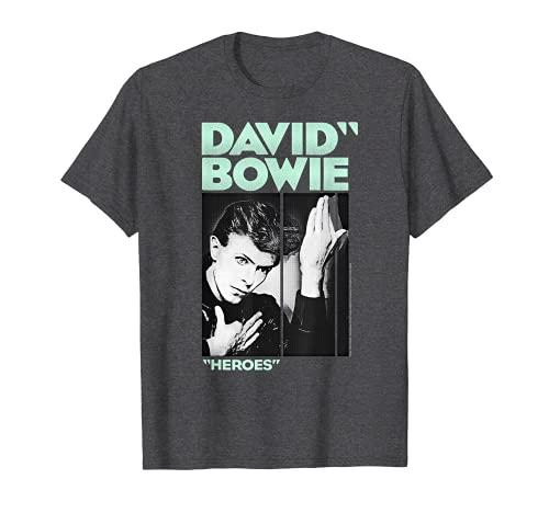 David Bowie - Festive Heroes T-Shirt