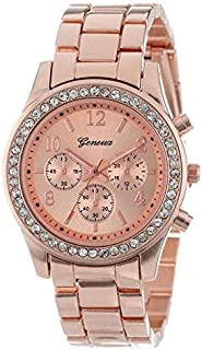 Geneva Casual Watch For Women Analog Stainless Steel - MJF002