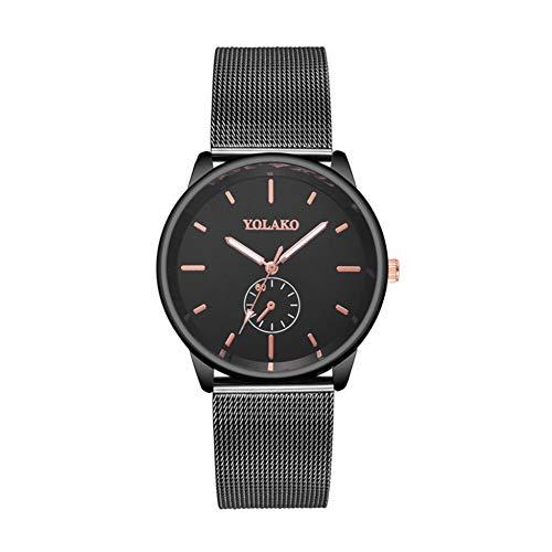 Eotifys Reloj Relojes Simples de Moda Relojes de Pulsera de Cuarzo para Hombres Reloj Informal de Negocios Simple