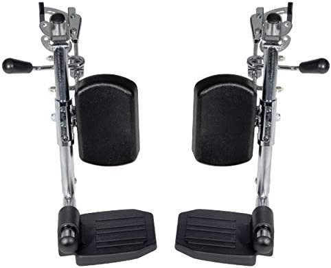 Drive Wheelchair Elevated Leg Rests - 1 Pair - Fits Viper (12