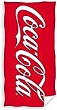 Carbotex Coca-Cola - Toalla de playa (70 x 140 cm, 100% algodón), diseño de Cola