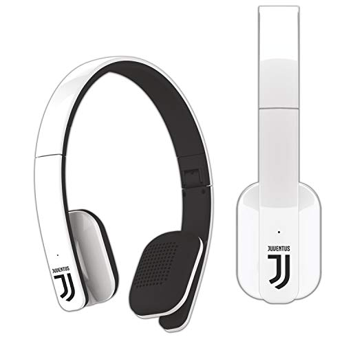 TECHMADE H004-Juv Cuffia Bluetooth, Bianco/Nero