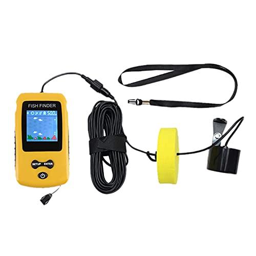 sharprepublic Buscador de Peces Portátil Sensor de Sonar Buscador de Peces Rastreador de Profundidad de Pesca en Barco