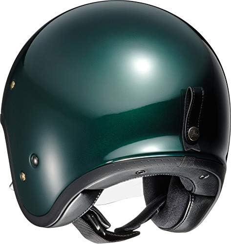 Shoei J O British Green Open Face Helm Jethelm Motorradhelm S Auto