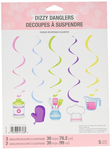 creative Converting Little chef festoni decorativi da appendere (5count)