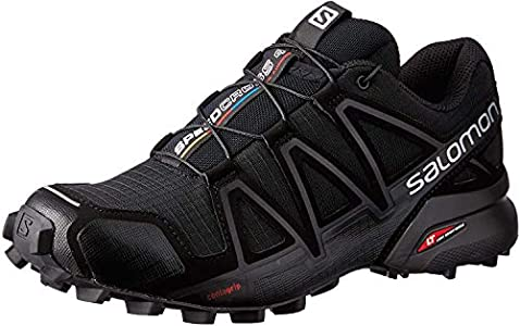 Salomon Speedcross 4 W, Zapatillas de Trail Running Mujer, Negro (Black/Black/Black Metallic), 39 1/3 EU