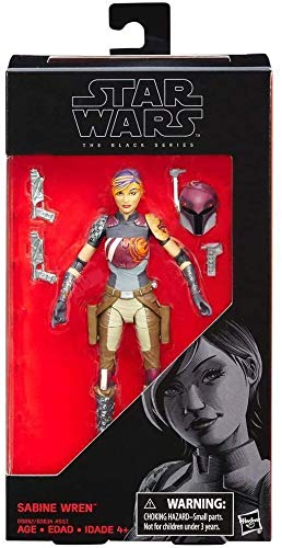 "Star Wars The Black Series Sabine Wren Action Figure, 6"""