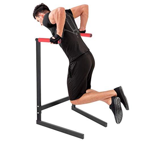 Sups Stands, 440lbs Power Tower Dip Station Push up Pull Up Parallel Barra, Heavy Duty Desercizio Bar Allenamento Equalizzatore per Body Body Home Gym Fitness Forms Formazione Regno Unito Disponibile