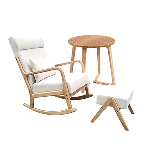Silla perezosa Hogar moderno mecedora, interior o exterior Rocker Sala sofá sillón reclinable,...