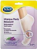 Scholl - Masque Pieds Relaxant et Hydratant Lavande - 1 Paire