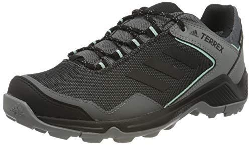 adidas Damen Terrex EASTRAIL GTX W Walking Shoe, Grey/Core Black/Clear Mint, 37 1/3 EU