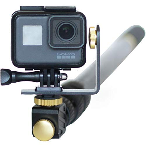 MicroJib XL - Pan + Tilt pole for GoPro with 360° rotation 22-60'