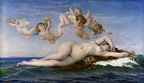 Puymnf Färbungen nach Zahlen mit Geburt der Venus Malerei Ölbilder DIY Farbe Zeichnung Malerei nach Zahlen Startseite