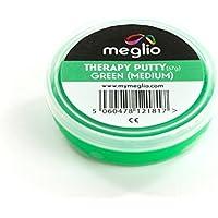 Meglio Masilla Terapéutica – extra suave, suave, mediana y firme – Se vende por separado o en packs de 4. Ejercicios para la rehabilitación y recuperación del movimiento (motricidad fina).