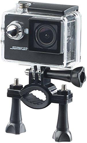 Somikon HD 720p Action Camera HD Action Cam DV 1212 mit 720p Auflosung Unterwasser Gehause IP68 Action Kamera HD 720p