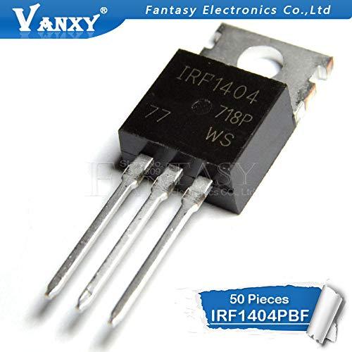 50PCS IRF1404PBF TO220 IRF1404 TO-220 neuer und ursprünglicher IC