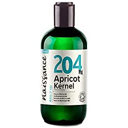 Food Grade. Occasionally our Organic Apricot Kernel oil may have the natural aroma of almonds or frangipani. As our products are natural, the odour (and colour) may vary from batch to batch. 100% pure cold pressed, refined Apricot Kernel Oil, certifi...