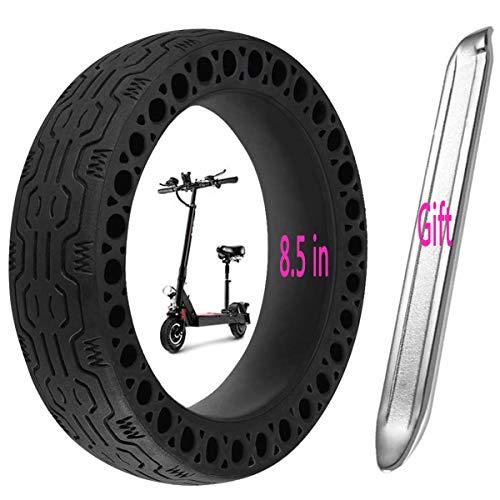 Aeuson Reifen mit elektrischen Reifen mit Antideflagierenden Reifen für Xiaomi M365 Elektromobile mit Anti-Slittament-Rollen, Nero-1