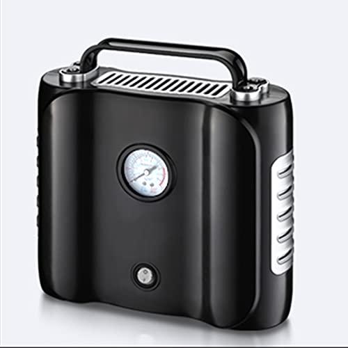 Compresor de Aire 220v Bomba De Inflación del Neumático del Coche, Compresor De Aire con Carga Automática Y Parada, Compresor De Aire Que Puede Llevar 100 Kg(Color:Puntero)