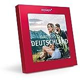 mydays Reise-Gutschein Kurztrips in Deutschland für 2 Personen, 2 Übernachtungen inklusive Frühstück, 100 Hotels, Geschenk für Paare in roter Geschenkbox