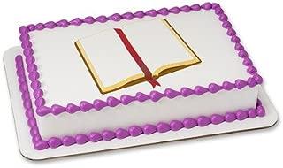 1/4 Sheet - Open Bible - Edible Cake/Cupcake Party Topper!!!