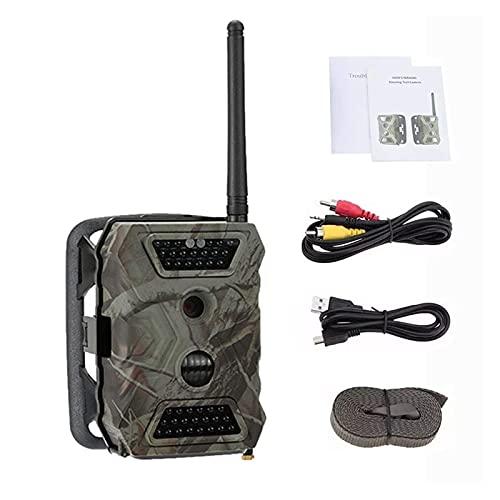 LTH-GD Cámara de Seguimiento al Aire Libre Cámara 2G gsm 12MP 1080P 2.0' LCD Cámara de Rastro Animal Salvaje MMS GPRS SMTP Visión Nocturna detect Foto Trampa s680m Monitoreo de Vida Silvestre