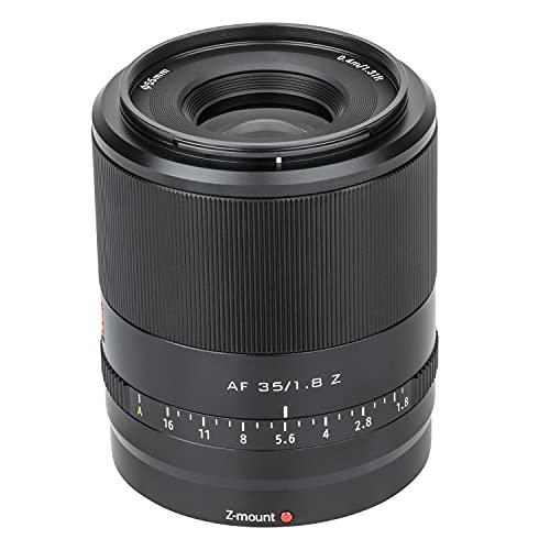 VILTROX Objetivo de gran angular AF F1.8 de 35 mm compatible con cámaras Nikon Z Mount