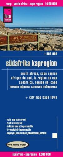 Reise Know-How Landkarte Südafrika Kapregion (1:500.000): world mapping project