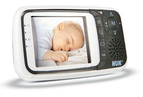 NUK Babyphone mit Kamera Eco Control+ Video, mit Gegensprechfunktion & Temperatursensor, frei von hochfrequenter Strahlung im Eco-Mode - 2