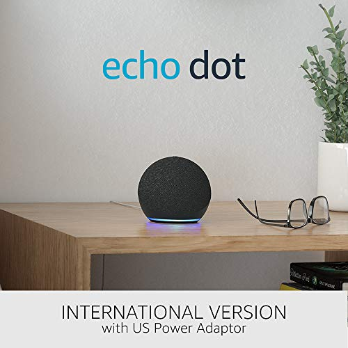 All-new Echo Dot (4th generation) International Version | Smart speaker with Alexa | Charcoal
