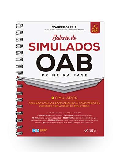 BATERIA DE SIMULADOS OAB 1ª FASE - 2ª ED - 2021