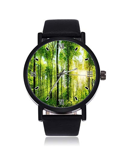 The Lush Forest Trees Are Natural - Reloj de Pulsera para Mujer...