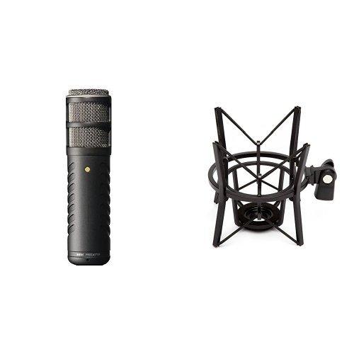 Rode Procaster Quality Dynamic Mikrofon + Røde elastische Mikrofonhalterung PSM1 Bundle